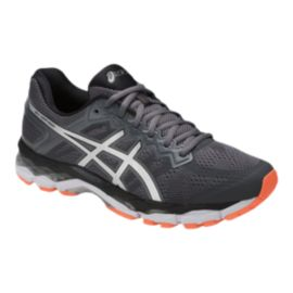 ASICS Men's Gel Superion Running Shoes - Grey/Silver/Orange