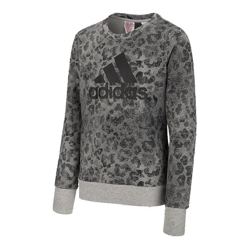 b3c91c541b6 adidas Girls  Crew Sweater