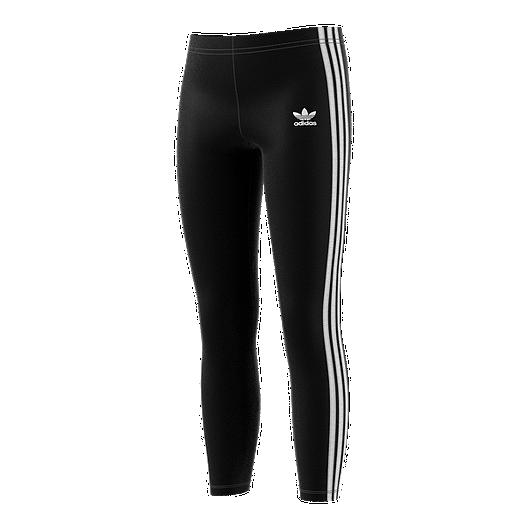 Originals Adidas Girls' 3 Stripe Leggings qSMVpUzG