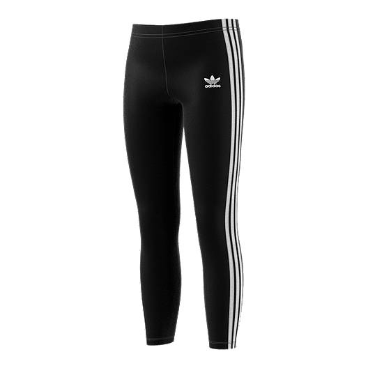08be1940528 adidas Originals Girls' 3 Stripe Leggings | Sport Chek