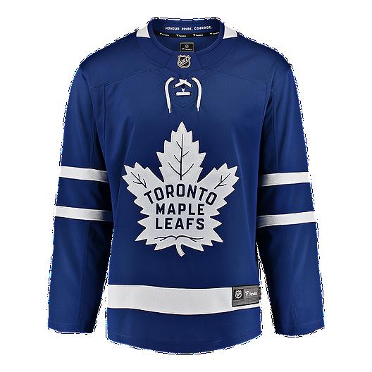 best service 7f7c6 2a7de Toronto Maple Leafs Fanatics Breakaway Home Hockey Jersey