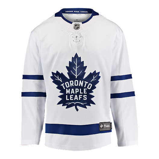 8b15bc22d6f Toronto Maple Leafs Fanatics Breakaway Away Hockey Jersey | Sport Chek
