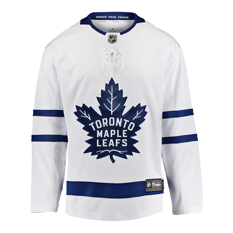 Toronto Maple Leafs Fanatics Breakaway Away Hockey Jersey  b56848b31