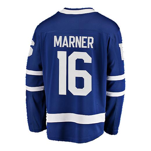 dde53e59483 Toronto Maple Leafs Mitch Marner Fanatics Breakaway Home Hockey Jersey -  BLUE