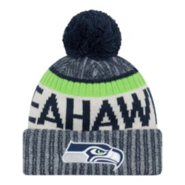 Seattle Seahawks New Era Official Cold Weather Sport Knit