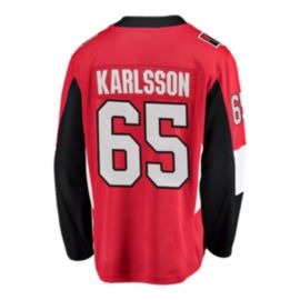 Ottawa Senators Erik Karlsson Fanatics Breakaway Home Hockey Jersey