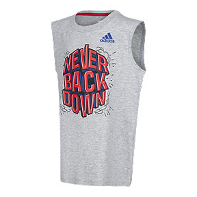 adidas Boys' 2-7 Never Back Down Tank