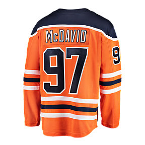 Edmonton Oilers Connor McDavid Fanatics Breakaway Home Hockey Jersey