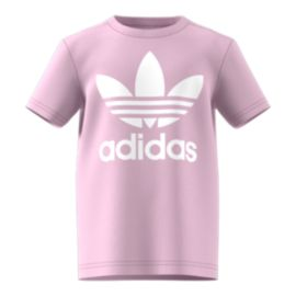 adidas Originals Kids' 5-7 Trefoil T Shirt