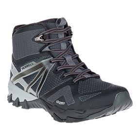 f9aef5ecca3 Merrell Men s MQM Flex Mid Waterproof Hiking Boots - Black