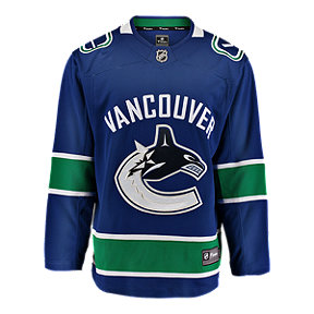 Vancouver Canucks Fanatics Breakaway Home Hockey Jersey