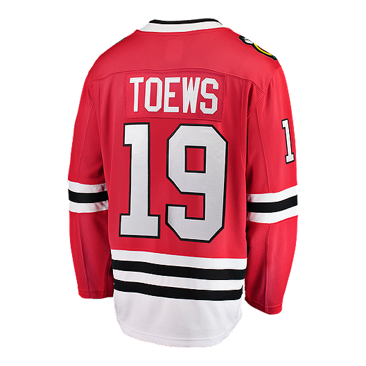 info for 76213 d69dc Chicago Blackhawks Jonathan Toews Fanatics Breakaway Home Hockey Jersey