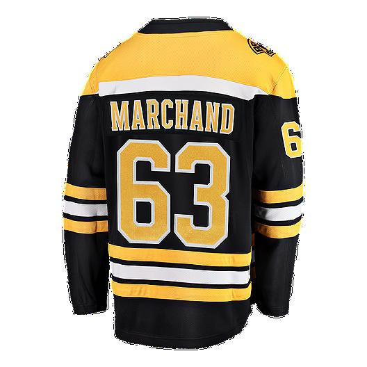 Boston Bruins Brad Marchand Fanatics Breakaway Home Hockey Jersey