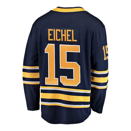 the latest dc079 0f159 Buffalo Sabres Jack Eichel Fanatics Breakaway Home Hockey Jersey