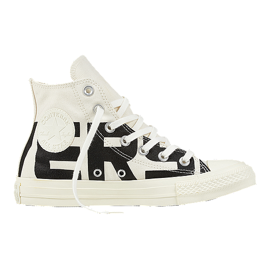 a7f8993e7663 Converse Women s Chuck Taylor All Star Hi Wordmark Shoes - Black ...