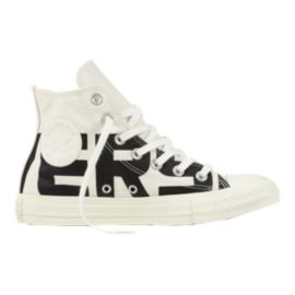 Converse Women's Chuck Taylor All Star Hi Wordmark Shoes - Black