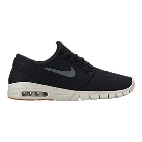 cheap for discount a0f4a dfae8 Nike Men s Janoski Max Skate Shoes - Black Grey Gum