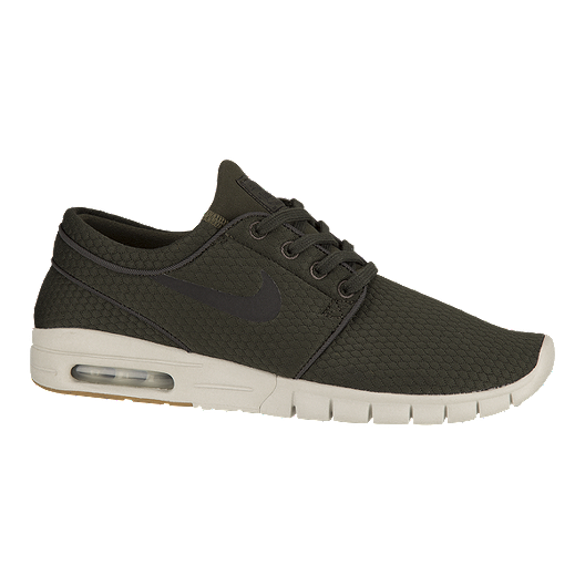 06422c7b75d0 Nike Men s Stefan Janoski Max Skate Shoes - Sequoia Black Gum ...