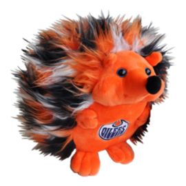 Edmonton Oilers Fluffy Hedgehog