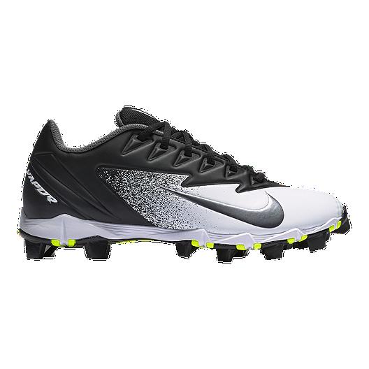 eea4e3a420c Nike Men s Vapor UltraFly Keystone Low Baseball Cleats - Black Silver White