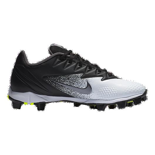 55bedc70e96 Nike Men s Vapor UltraFly Keystone Low Baseball Cleats -  Black Silver White. (2). View Description