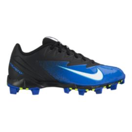 Nike Men's Vapor Ultrafly Keystone Low Baseball Cleats - Black/White