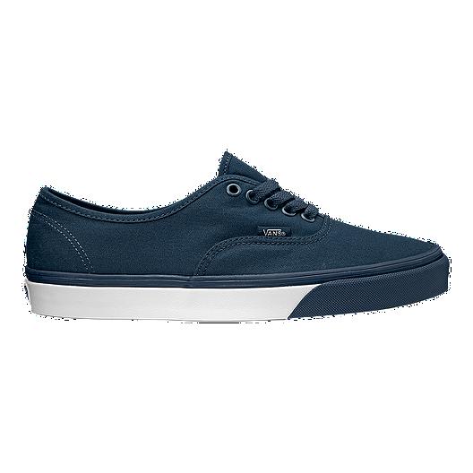 64c55477ad Vans Authentic (Mono Bumper) Shoes - Blue White
