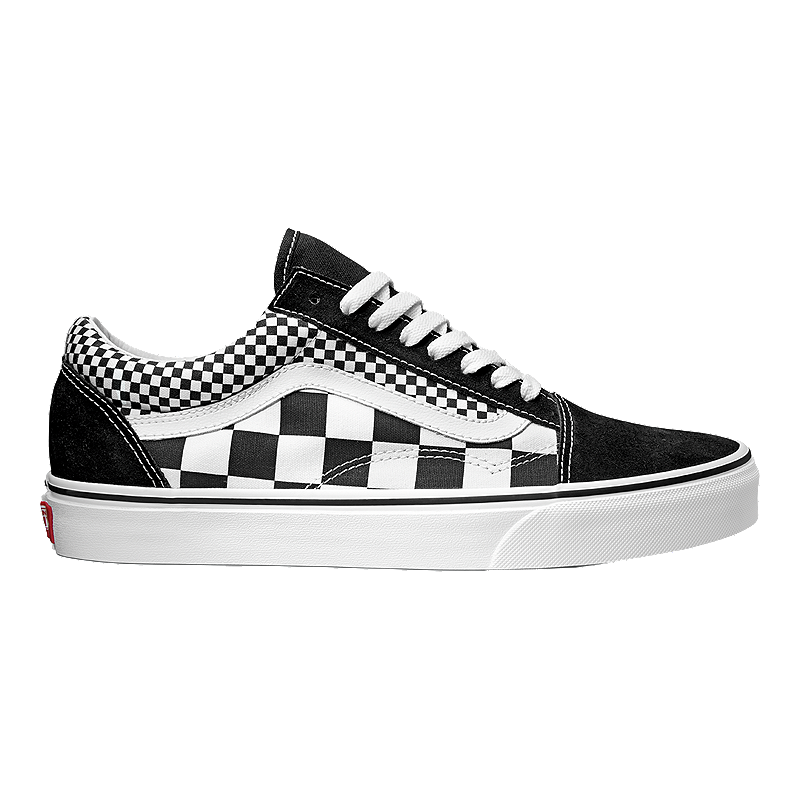 a291468f68 Vans Old Skool (Mix Checker) Shoes - Black White