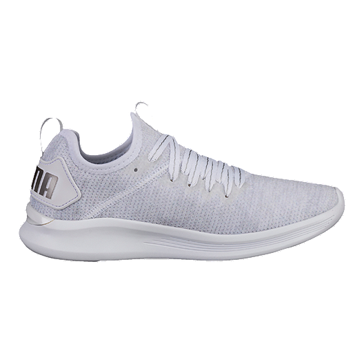 the latest 25f81 92ebf PUMA Women's Ignite Flash evoKNIT EP Shoes - White