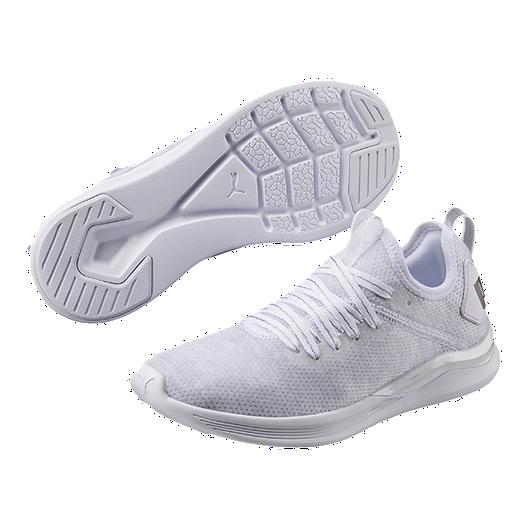 the latest 99c17 dc43a PUMA Women's Ignite Flash evoKNIT EP Shoes - White