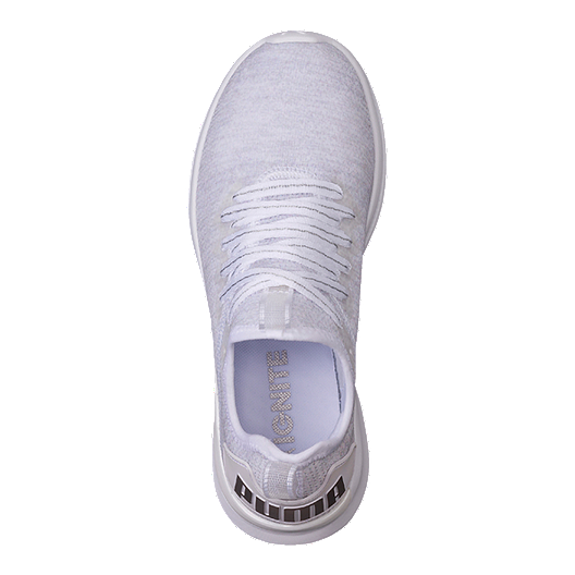 the latest 99c17 dc43a PUMA Women's Ignite Flash evoKNIT EP Shoes - White