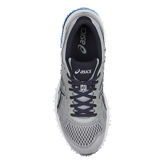 outlet store 61e78 00cfc ASICS Men's GT 1000 6 2E Wide Width Running Shoes - Grey/Blue