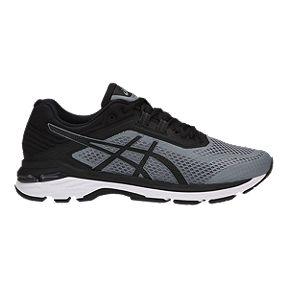 super cute 385dd 71732 ASICS Men s GT 2000 6 2E Wide Width Running Shoes - Grey Black White