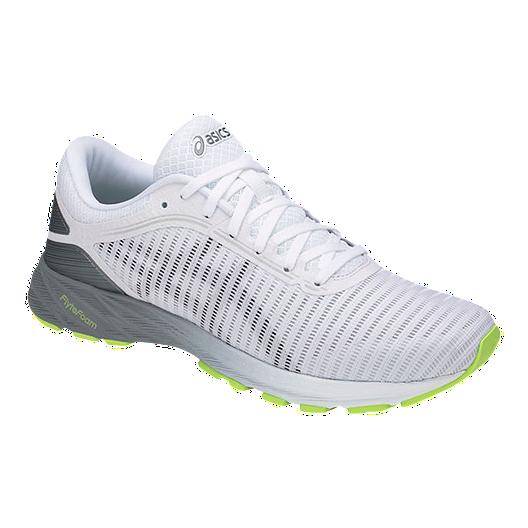 low priced d22d7 a05da ASICS Men's DynaFlyte 2 Running Shoes - White/Black/Grey ...