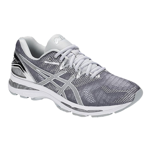 0f2e2adec2a ASICS Men s Gel Nimbus 20 Running Shoes - Platinum Silver