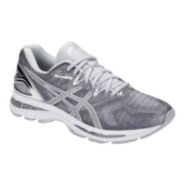 ASICS Men's Gel Nimbus 20 Running Shoes - Platinum Silver