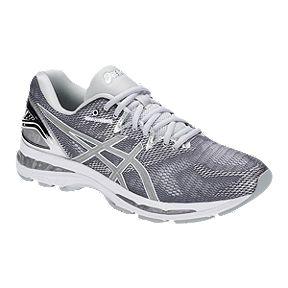 ASICS Men s Gel Nimbus 20 Running Shoes - Platinum Silver 1f446bd8fc3e1