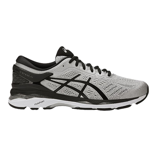 41731114a6cc ASICS Men s Gel Kayano 24 4E Extra Wide Width Running Shoes -  Silver Black Grey