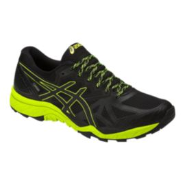 ASICS Men's Gel Fujitrabuco 6 GTX Trail Running Shoes - Black/Yellow
