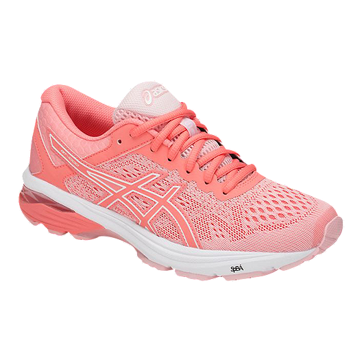 4b1d4ad0a19 ASICS Women s GT 1000 6 Running Shoes - Pink White