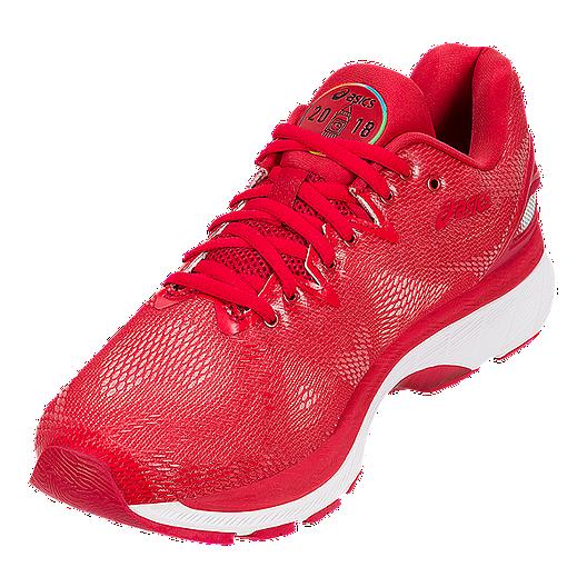 b76276cb ASICS Women's Gel Nimbus 20 'London 2018' Running Shoes - Red ...