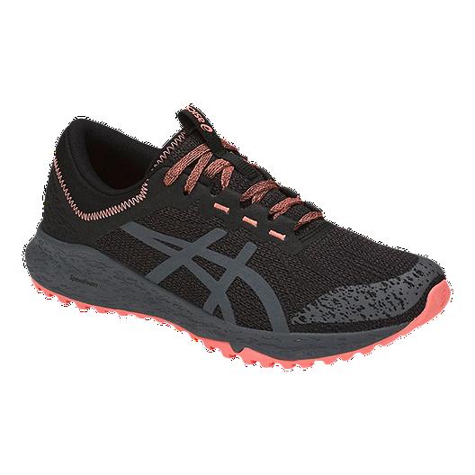 42d3906d7db45c ASICS Women's Alpine XT Trail Running Shoes - Black/Grey/Pink | Sport Chek