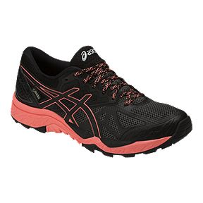 ASICS Women s Gel Fujitrabuco 6 GTX Trail Running Shoes - Black Pink 07626fb1a