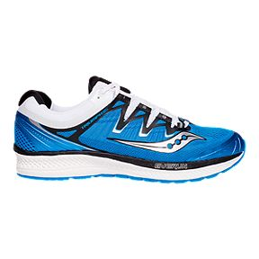 ee5cc402a1b8 Saucony Men s Triumph ISO 4 Running Shoes - Blue Black White