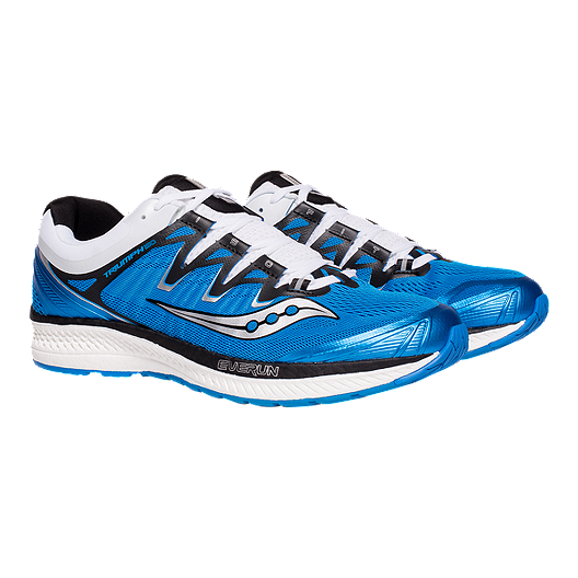Saucony Men's Triumph ISO 4 Running Shoes BlueBlackWhite