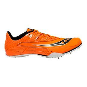 4a0bf6d41bbb Saucony Men s Spitfire 4 Track   Field Running Shoes - Orange Black