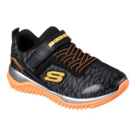 Skechers Kids' Turboshift Preschool Shoes - Black/Orange