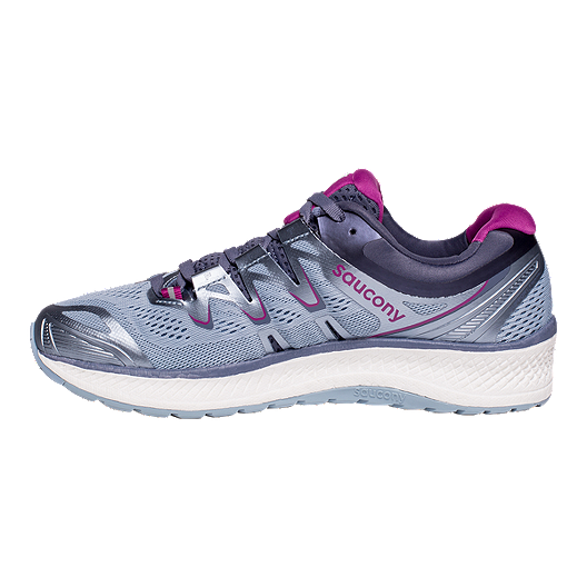 Saucony Triumph Iso 4 Black Aqua Violet Womens Athletic Running Shoes