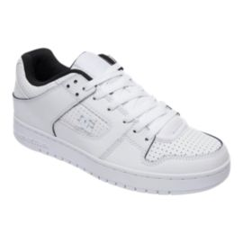 DC Men's Manteca SE Skate Shoes - White/Black