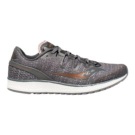 Saucony Women's Everun Freedom ISO Running Shoes - Grey/Denim/Copper